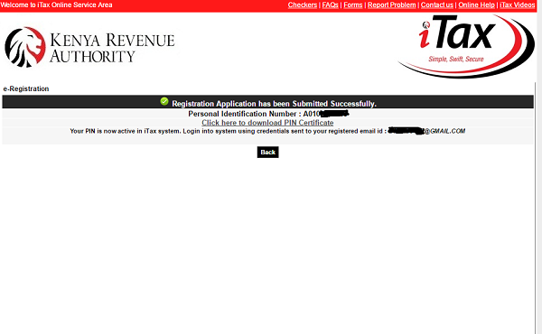 KRA PIN Application for Students HELB