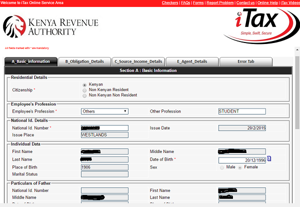 This is how you register for your KRA PIN